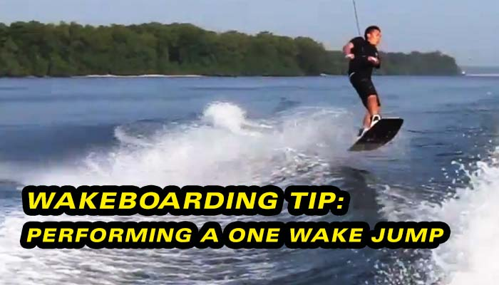 Wakeboarding Lesson 09: One Wake Jumps