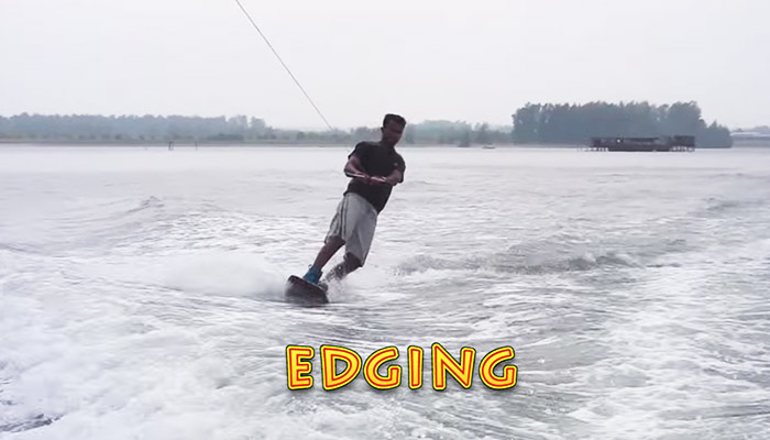 Wakeboarding Lesson 02: Edging