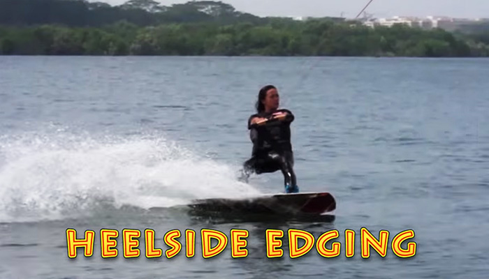Wakeboarding Lesson 04: Heelside Edging