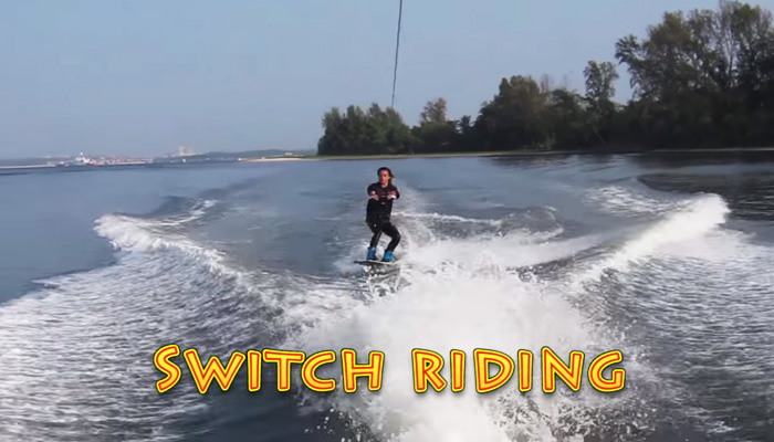 Wakeboarding Lesson 06: Switch Riding