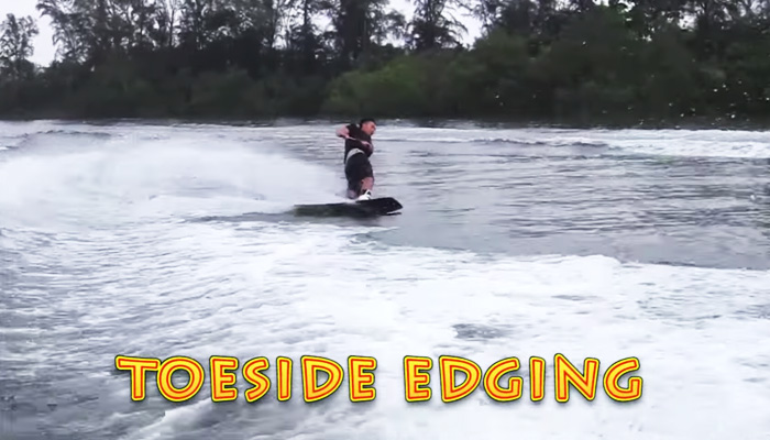 Wakeboarding Lesson 05: Toeside Edging